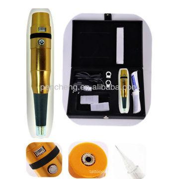 Gold Adjust needle length Eyebrow Tattoo pen kits -TC-BG