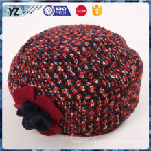 Hot selling top sale leather ivy cap for wholesale