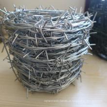 Hot-Dipped / arame farpado galvanizado elétrico