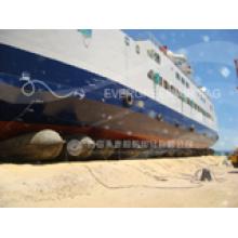 Os airbags marinhos de lançamento do navio cumprem com o ISO, habilitado por CCS, ABS, Lr, BV