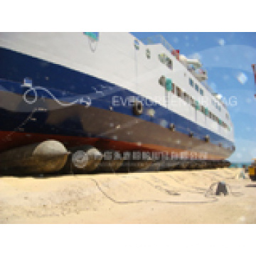 Ship Launching Marine Airbags Comply with ISO, Certificated by CCS, ABS, Lr, BV