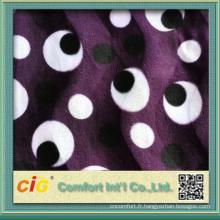 2014 nouveau design de haute qualité à bas prix tissu velours coréen