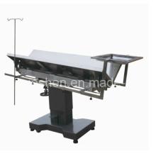 Medizinische Edelstahl Veterinary Chirurgische Operation Tabelle