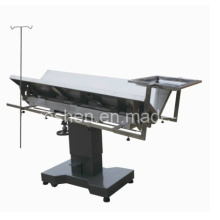 Medical Stainless Steel Veterinary Surgical Operation Table