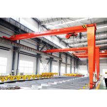 MBH model single girder semi-gantry crane 10ton