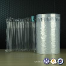 PE/PA material sacos de ar coxim envoltório rolo embalagem protectora para enviar bens frágeis