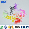 Small Size Colorful Silicone O ring Seal