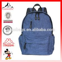 Mochila de hombro de lona mochila de viaje de día para la escuela, al aire libre, senderismo y camping, bolsa de estudiante