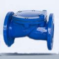 Válvula de retención de disco revestida de goma (H44X)