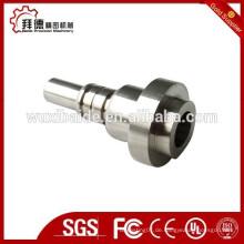 OEM Edelstahl-Bearbeitung / hochpräzise Edelstahl-Drehmaschine Teile / benutzerdefinierte Stahl CNC-Frästeile