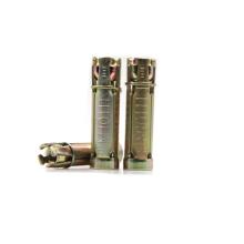 High-quality yellow zinc plated shield anchor rawal bolt fix bolt