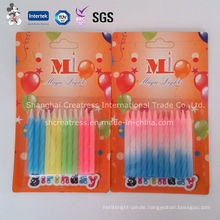 Colored Spiral Birthday Candles Paraffin Wax Candle