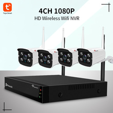 Kits WiFi NVR de 4 canales 1080P