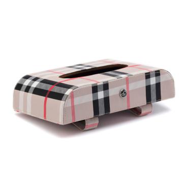 Leather Resisting High Temperature Car Napkin Tissue Box