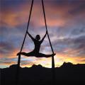 Nylon Aerial Yoga Hammock Swing Flying Yoga Tricot