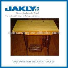 Mesa de cajón de la máquina de coser doméstica JA2-2 con soporte completo de hierro fundido