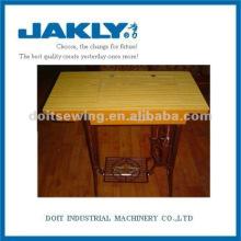 Tabela da gaveta da máquina de costura do agregado familiar JA2-2 com suporte completo do ferro de carcaça