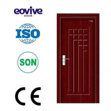 Porta de madeira do pvc porta comercial portas do armário