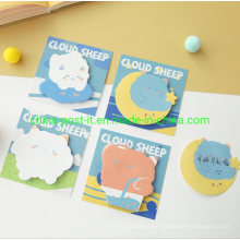 Cloud Sheep Lovely Design Self-Adhesive Sticky Memo Notes Pad