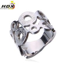 Anel de aço inoxidável fabricante anéis de moda