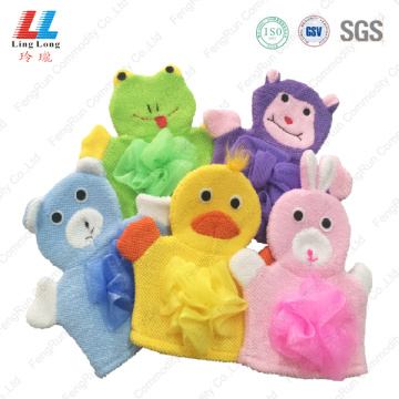 Variety animal children bath gloves
