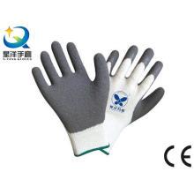 Рабочие перчатки с латексным пальцем