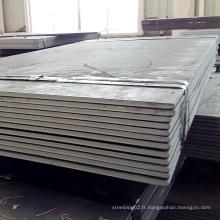 Nm400 Nm450 Nm500 Nm600 Plaque en acier résistant à l'usure élevée