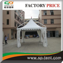 Luxury outdoor exhibition aluminum gazebo tent with PVC window for hot sale