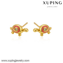 25807 xuping jewelry fashion wholesale new simple tortoise design stud earrings