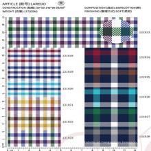 alta qualidade 100% têxtil tecido de algodão para homens camisa de vestido