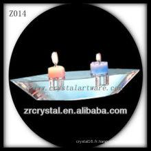 Bougeoir en cristal populaire Z014