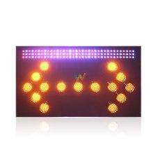 Flash âmbar com seta para sinalização semáforo