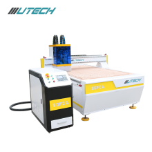3D CNC oscillating knife leather strip cutting machine