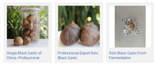 single black garlic