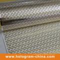 Void Tamper Evident Grabe en relieve el papel de aluminio