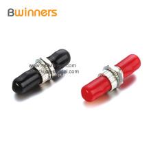 Adaptador de flange de fibra óptica simples APC