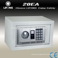 Eletrônica digital mini cofre e dinheiro seguro