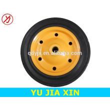 13 inch small solid rubber wheelbarrow wheel
