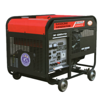 9KVA Gasoline Generator Air Cooled 4 Wheels 3000rpm or 3600rpm