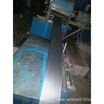 Hot-dipped galvanized perforated metal sheet