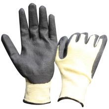 NMSAFETY cut resistant use nitrile foam palm gloves