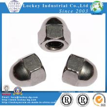 Нержавеющая сталь / стальная шестигранная гайка