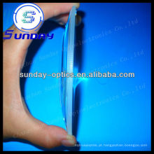 Lentes convexas planas grandes de vidro ópticas de 200mm