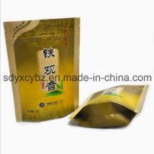 Levántese los bolsos Ziplock hechos de materia prima 100% nueva con el SGS aprobado