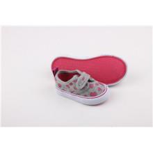Zapatos de lona para niños con cinta mágica (SNK-241591)