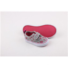 Children′s Canvas Shoes with Magic Tape (SNK-241591)