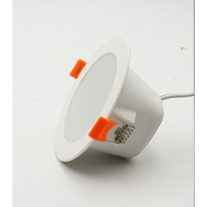 "Downlight empotrable LED de 2.5 ""con sensor de microondas incorporado"