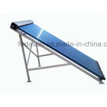 Colector solar de tubo de calor de tubo de vacío