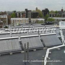 Hausgemachter Solarthermischer Kollektor