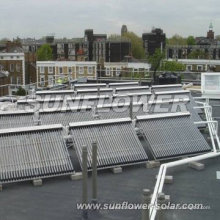 Colector solar placa plana
